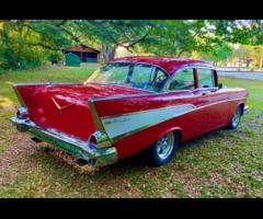1957 Chevrolet Belair Automobile Mint Condition For Sale