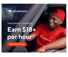 Deliver with DoorDash Sign Up Now and Start Making Money