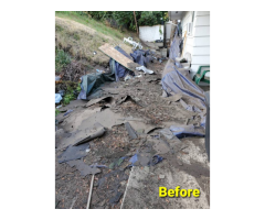 Removal Haul Off And Demolition Clean Up Areas