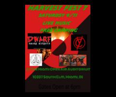 Harvest Fest No 7 Free Concert Live Music