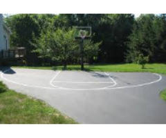Basketball Court Line Painting Services Court Striping Marking Sale